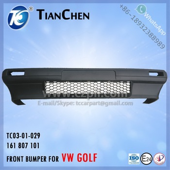 FRONT BUMPER for GOLF 1 1974 - 1983 161 807 101 - 161807101