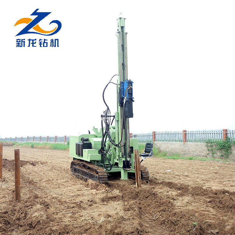 Professional industrial new condition hydraulic solar pile driver