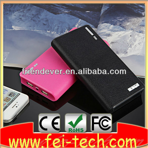 portable wholesale battrey bank 20000mah