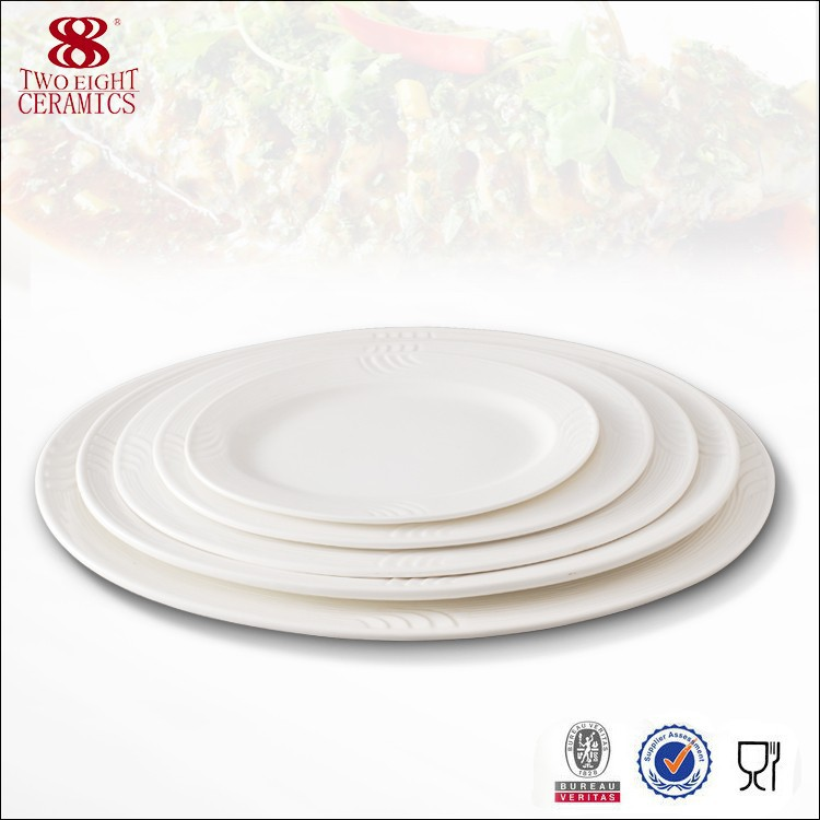 China houseware ceramic dinnerware restaurant porcelain olive oval dish