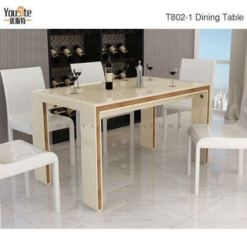 New Style Italian Modern 8 Seater Dining Table Set Product On
