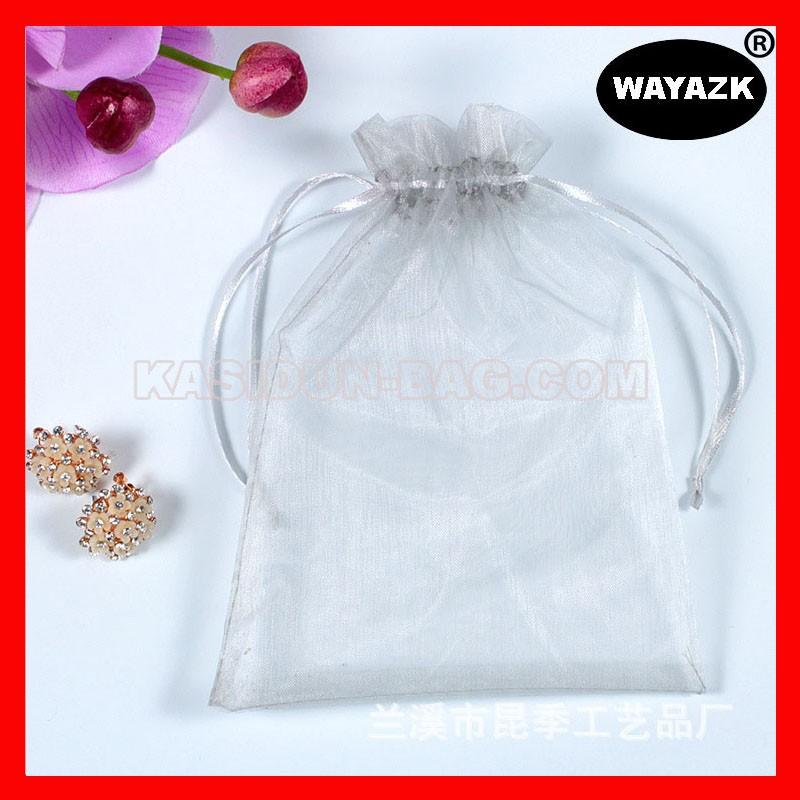 light green organza bag