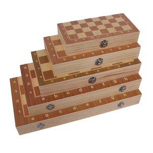 2 In1 Wooden Chess set Chess Board Manufacturer Backgammon