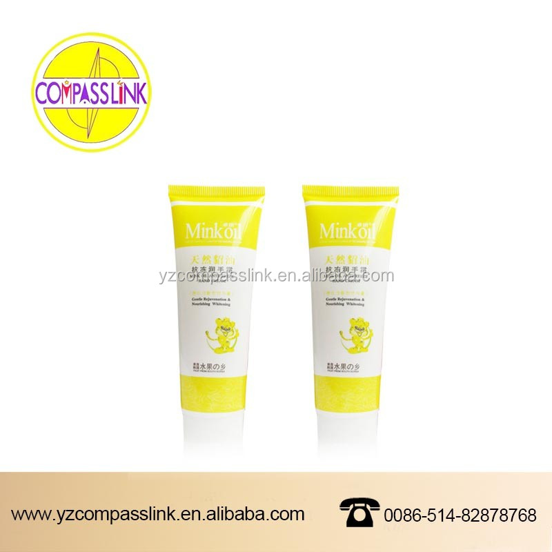 Hot sale soft Tube/ Cosmetic /toothpaste/pharmaceutics/ plastic tube