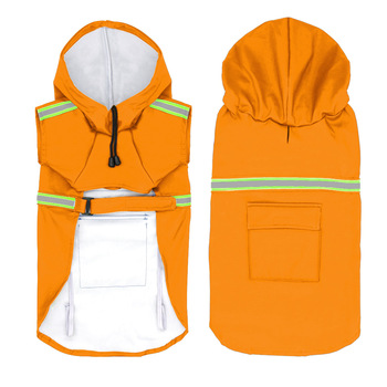 Wholesale Multicolor Waterproof Reflective Large Dog Rain Coats