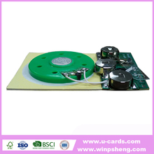 Wholesale recordable voice sound module for card