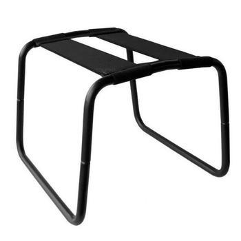 Kraftvolles Schwarz Keine Schwerkraft Liebe Stuhl Für Paaresexmöbel