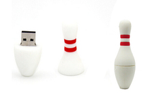 Promotional Gifts Bowling Pin USB Flash Drives Sports Pen drives 4GB 8GB