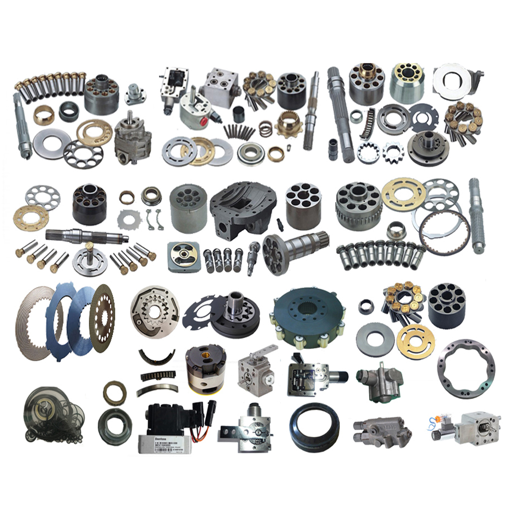 A6VM A6VM28 A6VM107 A6VM160 A6VM200 A6VM250 A6VM80 A6VM55 Brueninghaus UCHIDA Hydromatik Rexroth Hydraulic Motor And Parts