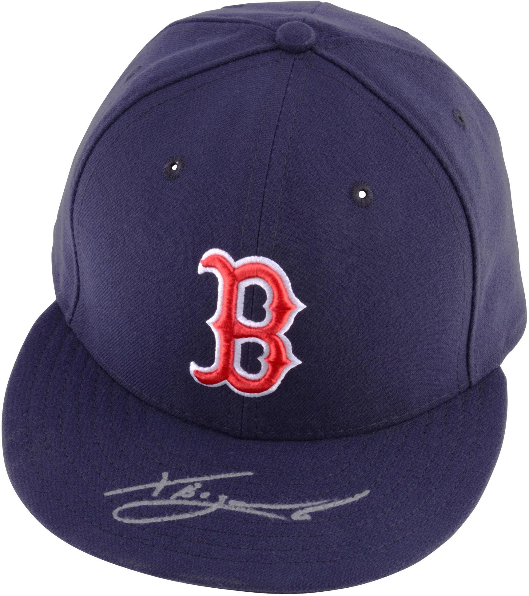 Get Quotations · Xander Bogaerts Boston Red Sox Autographed Navy New Era  Cap - Fanatics Authentic Certified - Autographed 09d6e7b16
