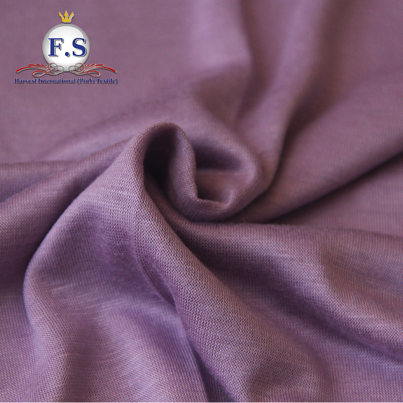 100% rayon smart fabric for underwear or t-shirt single jersey rayon