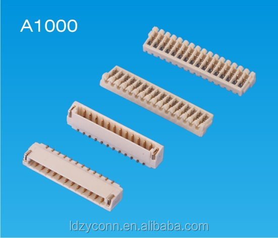 UL approved JST SSR 1.00mm pitch 16 pins IDC wire to board electronic connetor