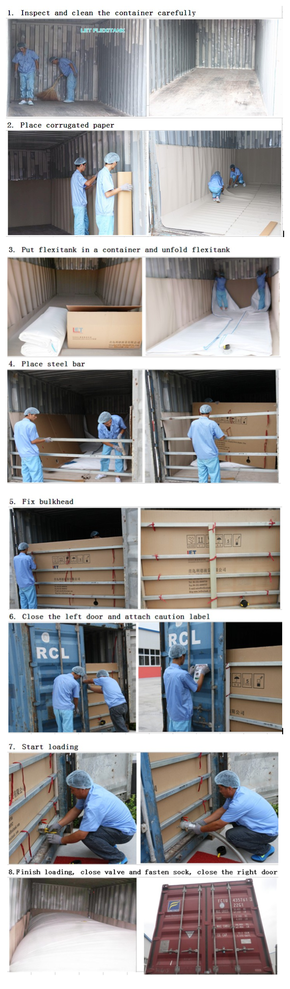 Bulk Chemical Liquid products transport  flexible package bag flexitank flexi bag container