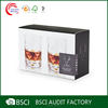 Custom retail printed corrugated wine glass gift boxes wholesale