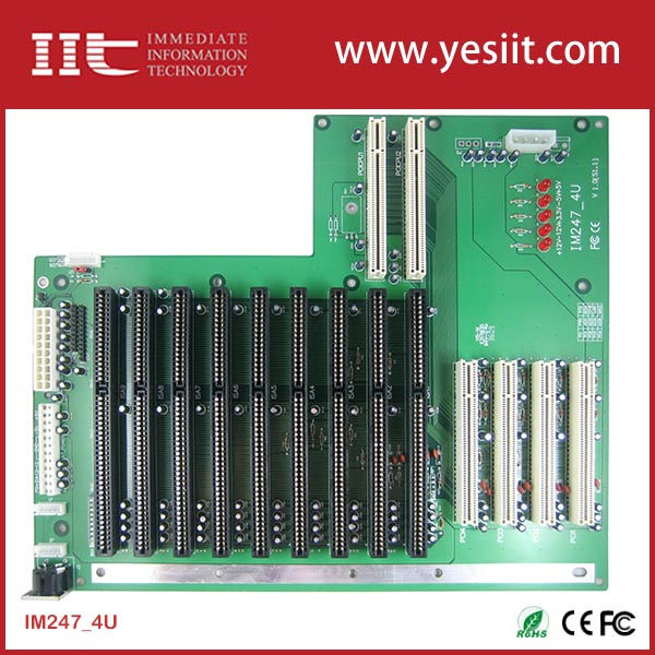 Industrial Backplanes 9 ISA 2 PCCPU 4 PCI IM247-4U
