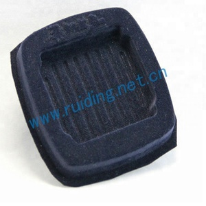 thermo formed blister tray with flocking & velvet/flocking inner tray