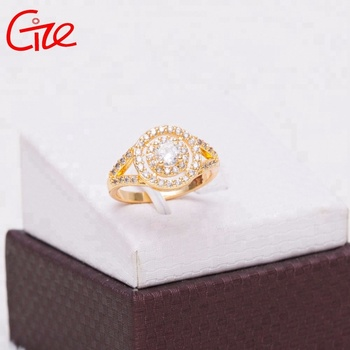 wholesale engagement chain cross design brass clamp wedding rings with name