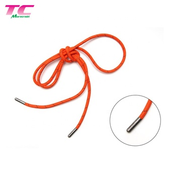 Morecredit Round Shoe Laces With Metal Tips For Wholesale Professional Metal Aglet Shoelace Manufacturer