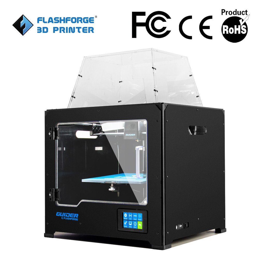 Flashforge z corp guider 3d metal printers made in china for Made with 3d printer