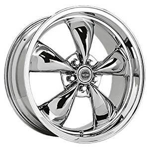 American Racing Custom Wheels AR605 Torq Thrust M Triple Chrome Plated Wheel (17x10.5/5x114.3mm, +28mm offset) by American Racing
