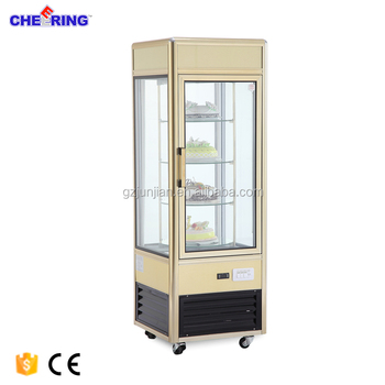 aluminum alloy 1-door Upright Cake displayer cooler