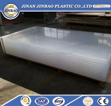 high quality 22mm thick plastic sheet clear