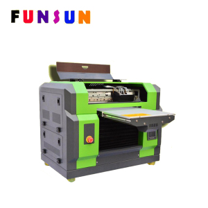 Funsunjet A3 Size Dx5 Head Book Cover Printing Machine UV Printer