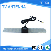 Manufacture vhf/uhf hdtv indoor 5db car/tv atsc antenna design