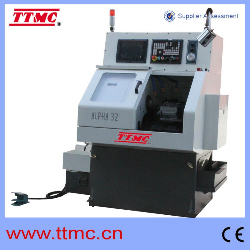 100mm taiwan mini tornio a controllo numerico di alta for Mini tornio cnc