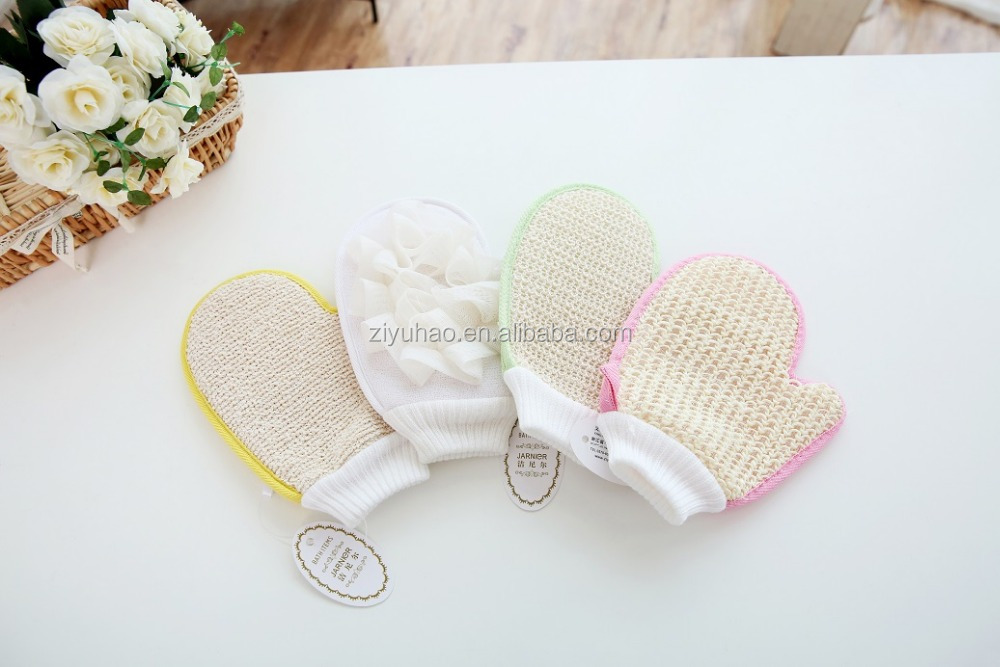 Hot Selling Hemp Bath Glove Stimulate Bath Mitt Manufacturer