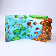 China Custom Color Bulk A5 Children Hard Cover Activity Book Printing Service