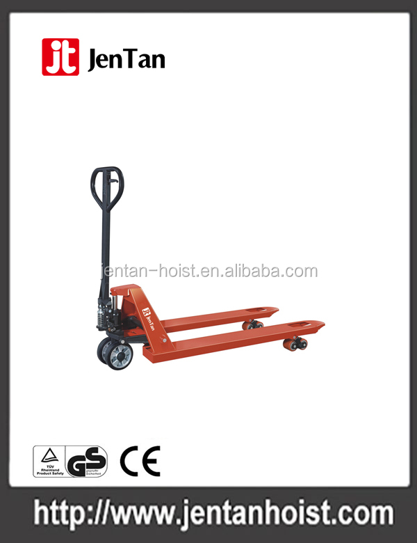 2.5T hydraulic hand pallet truck lift hand truck manufacturer in China