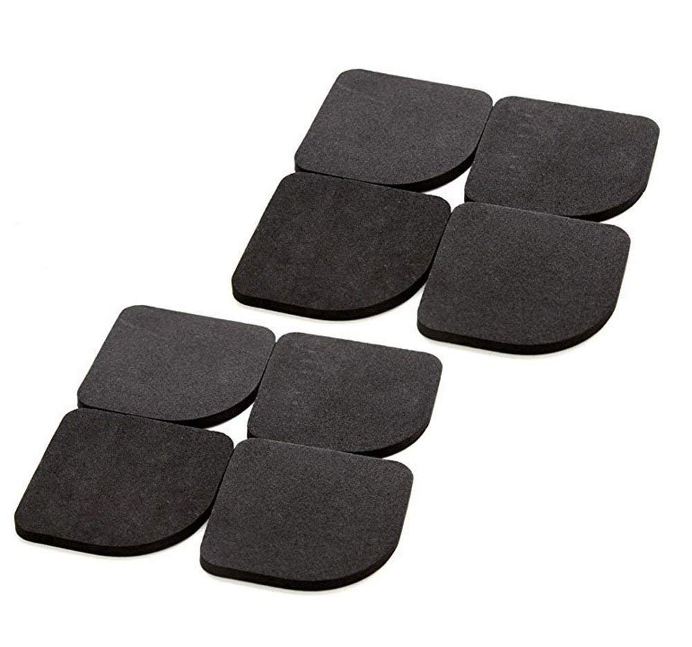 4Pcs Washing Machine Refrigerator EVA Anti-Vibration Pads Mat Home Appliance Scratch Protector,Rubber Feet for Furniture or Laundry Pedestal Anti-Vibration Pad