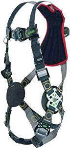 Miller by Honeywell Universal Revolution Arc-Rated Full Body Style Harness With Web Back D-Ring, Tongue Leg Strap Buckle, Quick Connect Chest Strap Buckle And Leather Insulators - 1 EA