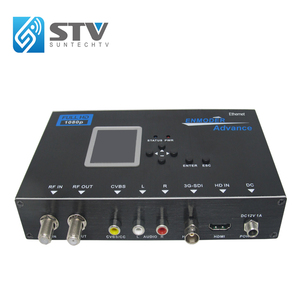 HD SDI & HD-MI & AV to DVB-T/C Encoder Modulator