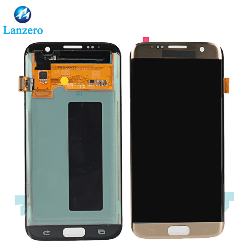 2018 lcd für Samsung galaxy S2 S3 S4 S5 S6 S6 rand plus S7 lcd Display, LCD Für Galaxy S6 S7