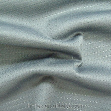 100 Polyester Knit Dry Fit Fabric, Microfiber, Soccer Jersey Mesh Fabric for Sportswear T shirt