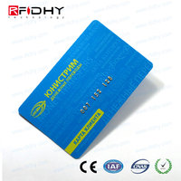 Paypal Business name card standard size plastic card with factory direct price