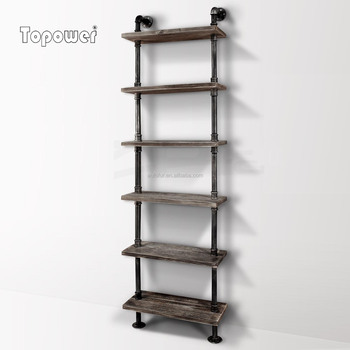 Diy Bookshelf Loft Style Cast Iron Wall Mount Industry Pipe Shelf Buy Cast Iron Wall Shelf Wall Mounted Show Shelf Diy Bookshelf Product On