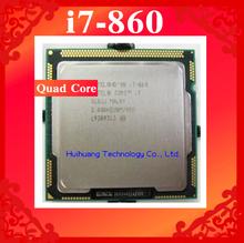 Core i7 860 2.8GHz 8M SLBJJ Quad Core Eight threads desktop processors Computer CPU Socket LGA 1156 pin