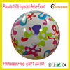 Custom logo printed TPU inflatable beach ball for promotional