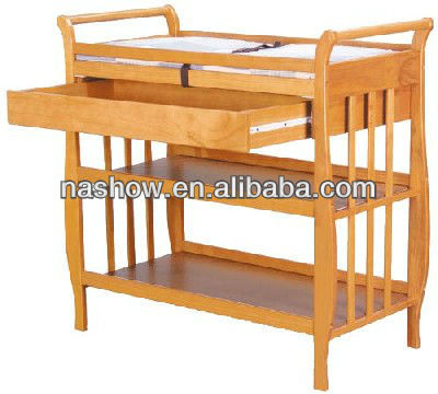 Folding Baby Wooden Change Table With Drawer   Buy Changing Table,Changing  Table,Wooden Baby Product On Alibaba.com