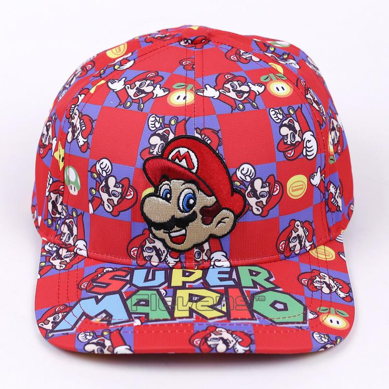 a06400e7379d1 ... Super Mario Bros Snapback Casquettes Basketball Chapeau Mens Baseball  Casquettes Unisexe Hip hop Snapbacks. Matière première:Coton