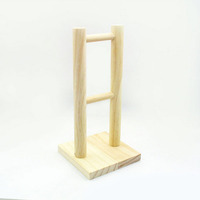 Eco-friendly Pine Wooden Headphone Stand Custom Handmade Headphone Display Rack