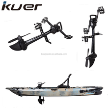 wholesale foot pedal drive fishing kayak with seat and rudder system
