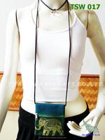 Thai Silk Handmade Coin Purse Wallet Money bag Travel bag