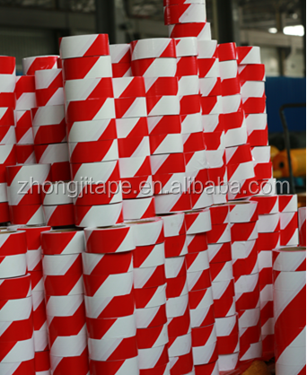 Fine and inexpensive red/white pe barrier tape