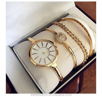 Good Quality Whole Women And Lady Watch Bracelet Gift Set