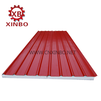 Wall Sheet And Roof Panel Eps And Mineral Wool Sandwich