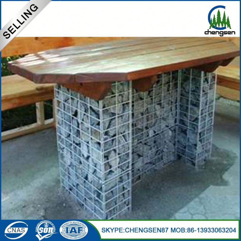 China high quality hot dip galvanied pvc gabion box